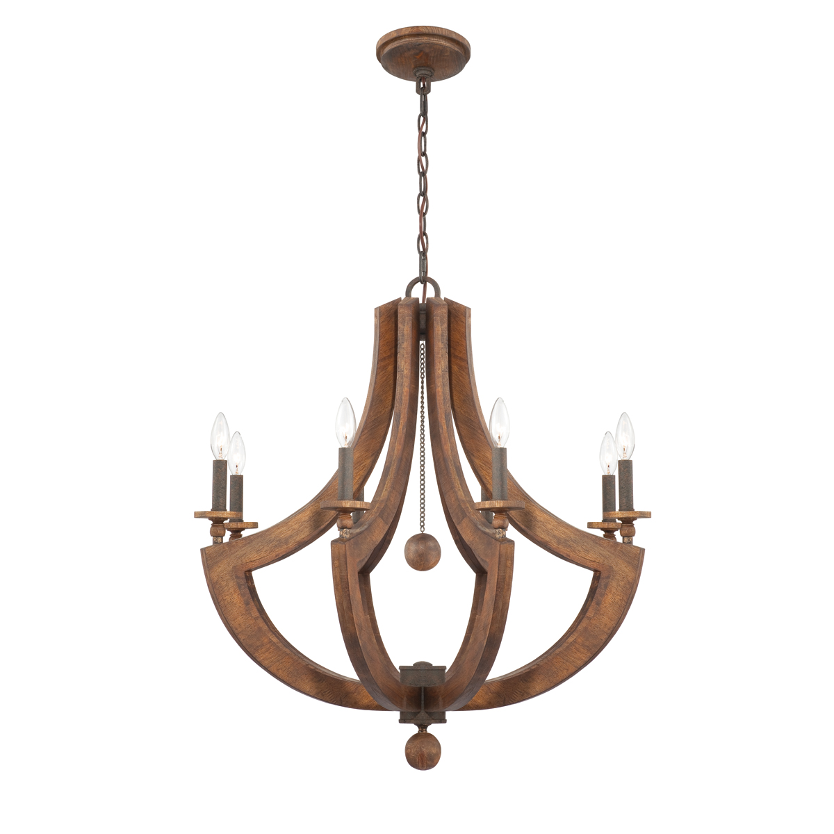 wood chandelier lighting. The Lenio Collection In A 8 Light Setting Wood Chandelier Lighting