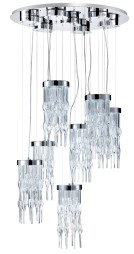 Viper 7 lt LED Chandelier